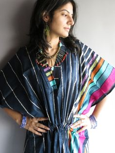 Cozy Kaftan Style made From I1 Fabric Pattern