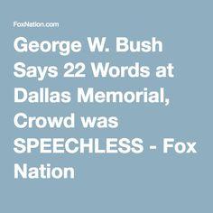 george bush memorial day speech