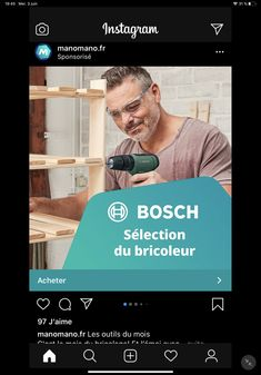 Bosch, Instagram