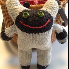 Sock creature #1