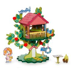 Twinkle Top Treehouse Playset Kit $10