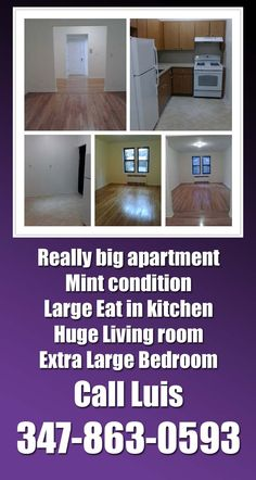 $1549 Huge 1 Bedroom Apartment, Mint Condition. Located In The Jackson  Heights Area Of