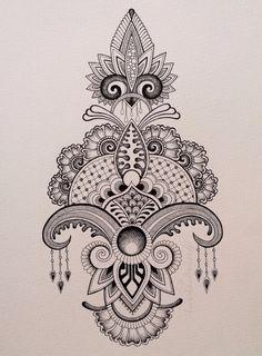 Recent drawing Anoushka Irukandji 2015 www.irukandjidesigns.bigcartel.com
