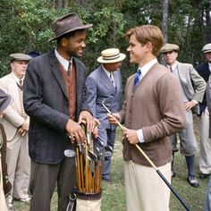 The Legend of Bagger Vance.  Okay, it is about golf, but still a phenomenal movie.