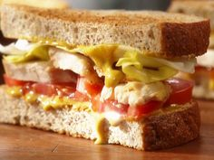 Dad's Chicken Sandwich Recipe : Claire Robinson : Food Network - FoodNetwork.com