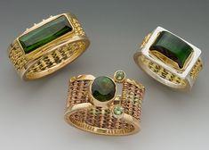 Tourmaline Rings by Cynthia Downs