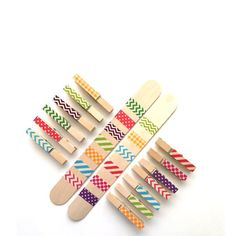 Pattern Matching Game with Clothespins Montessori Toys, Montessori Materials, Montessori Busy Bags, Montessori Toddler