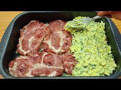 Gyors vacsora 10 perc alatt! Hihetetlenül finom recept a húshoz a sütőben! # 116🔝❗❗ - YouTube Pork Recipes, My Recipes, Dinner Recipes, Four, Yummy Food, Meat, Savory Tart, Incredible Recipes, Pork