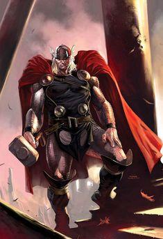 Thor by Marko Djurdjevic