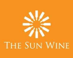 logo with sun, clever association