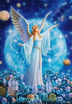 """Archangel Ariel is aligned with the Natural World, with Animals and with Elementals (i.e. Fairies, Elves, Sprites, Gnomes etc.)  In this capacity Ariel is a Guardian and healer of Animals and is an ally toward conservation of our natural world. Ariel is aligned with air/wind and with water, and although she is a guardian of all animals, she is especially aligned with birds and the Lion would be considered her """"animal totem."""""""