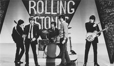 The Rolling Stones during a rehearsal for ABC's 'Thank Your Lucky Stars' TV pop music show, From left to right Brian Jones, Bill Wyman, Mick Jagger and Keith Richards. (Photo by Terry O'Neill/Getty Images) Terry O Neill, Keith Richards, The Rolling Stones, Rock And Roll, Bowie, Rollin Stones, Interview, Charlie Watts, She Wolf