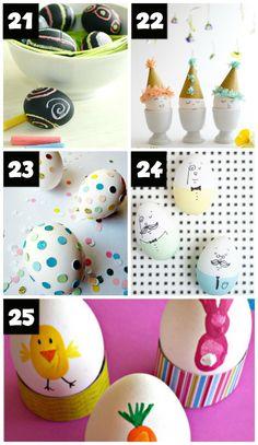 Easy Easter Egg Crafts for Kids