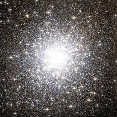 Messier 2 is a globular cluster found in the constellation Aquarius. It is located five degrees north of Sadalsuud (Beta Aquarii) It is 13 billion years old and contains about 150,000 stars, including 21 known variables. It is one of the largest globular clusters known with a diameter spanning 175 light years. It is approximately 37,500 light years away with an apparent magnitude of 6.3.