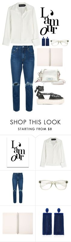 """""""Sin título #848"""" by fashionableforeign ❤ liked on Polyvore featuring SS Print Shop, Brandon Maxwell, Nobody Denim, Oscar de la Renta, McQ by Alexander McQueen, polyvorecommunity, polyvoreeditorial and polyvorefashion"""