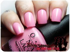 OPI - Couture de Minnie Swatches