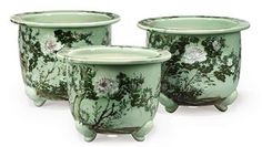 chinese celadon flowers and birds - Google Search
