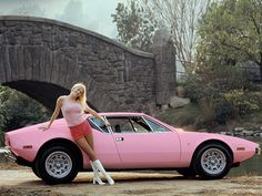 "ATTENZIONE! De Tomaso Pantera - 1972 - ""Playmate of the Year"" Liv Lindeland"