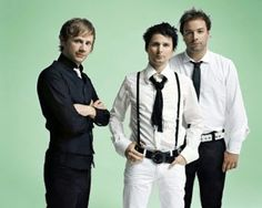 MUSE - one of my favorite bands.  Matt Belamy is like the mad scientist of rock.