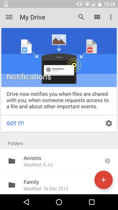 Android: Google Drive