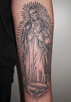Santa muerta tattoo
