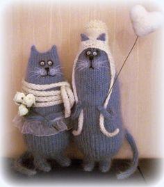 ideas for crochet cat toys amigurumi haken Gato Crochet, Crochet Cat Toys, Knit Crochet, Amigurumi Patterns, Amigurumi Doll, Crochet Patterns, Sock Dolls, Knitted Animals, Cat Doll