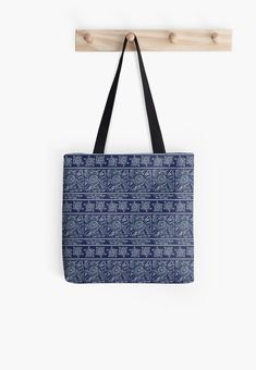 Blue African Batik style pattern, inspired by the African Shweshwe fabrics Pattern Fashion, My Design, Fabrics, Mini Skirts, Reusable Tote Bags, African, Inspired, Blue, Stuff To Buy