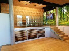 New Querschnitt showroom in Graz | Admonter Showroom, Divider, Stairs, Events, News, Furniture, Home Decor, Cross Section, Graz