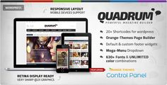 Quadrum - Multipurpose News&Magazine Theme - News / Editorial Blog / Magazine