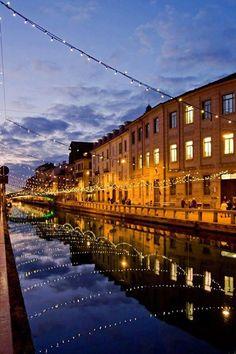 Navigli , Lombardy , Italy, province of Milan #Expo2015 #Milan #WorldsFair