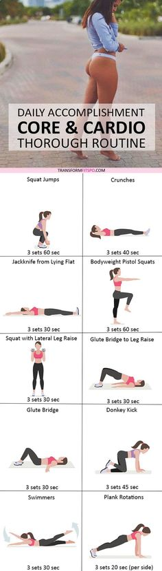 Repin and share if this workout got you toned and tight! Read the post for all the exercise descriptions!
