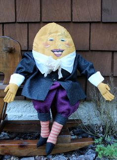 Vintage Reproduction Handcrafted and handpainted Humpty Dumpty