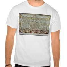 Perspective view of the ballroom constructed shirts T Shirt, Hoodie Sweatshirt