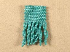 Basics: Twisted Fringe #Seed #Bead #Tutorials