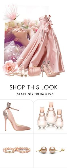 """""""Sweet Dreams Pink Dreams"""" by ahapplet ❤ liked on Polyvore featuring Alexis Mabille, Brian Atwood, GUESS, Wilbur & Gussie, Pink and ahapplet"""