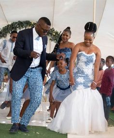 shweshwe wedding dresses Aside from the designs for every day and classic events, here are shweshwe dresses to suit your engagement next season South African Wedding Dress, African Bridal Dress, African Wedding Attire, African Lace Dresses, African Fashion Dresses, African Attire, African Traditional Wedding Dress, Traditional Wedding Attire, Shweshwe Dresses