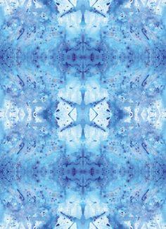 TKANINA HYPNOTIC BLUE