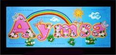 Cartel de bebe-niña -letras- Nacimiento - baby shower- foami. bebe-accesorios-decoración - Aymsa- Elaborado Por Isamar Belisario