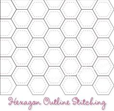 Have you thought about how you are going to quilt your hexagons? The first thought that comes to my mind is that I will probably want to han...