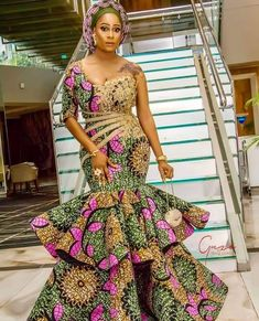 Beautiful Ankara Styles For Women - African Fashion Vibes Beautiful Ankara Styles For Women - African Fashion Vibes. Beautiful Ankara Styles For Women Long African Dresses, Ankara Long Gown Styles, Ankara Styles For Women, Ankara Gowns, African Print Dresses, Ankara Skirt, African Prints, African Party Dresses, Dashiki Dress