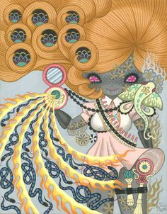 Yunico Uchiyama, kawaii Magical Girls: Art Inspired by Shōjo Manga