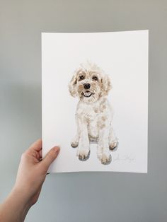 65 Ideas Art Inspiration Watercolor How To Paint For 2019 Mini Paintings, Animal Paintings, 3 Piece Canvas Art, Fantasy Art Landscapes, Dark Art Drawings, Watercolor Animals, Watercolor Portraits, Dog Portraits, Dog Art