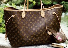 dream bag: louis vuitton neverfull tote.