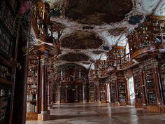 """""""Soul Warmer"""" at the Abbey Library of St. Gall, 2005. By Gerda Steiner and Jörg Lenzlinger"""