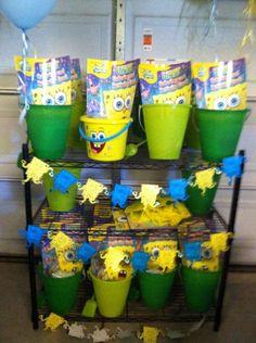 Justins Spongebob Party   CatchMyParty.com