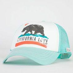 BILLABONG Pit Stop Womens Trucker Hat: perfect for hawaii!!