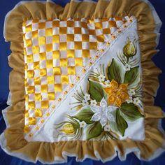 Capa para Almofada (Mostarda)