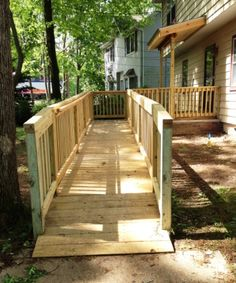 11 Best Wheelchair ramps images   Wheelchair ramp ... Ramo Mobile Home Deck on