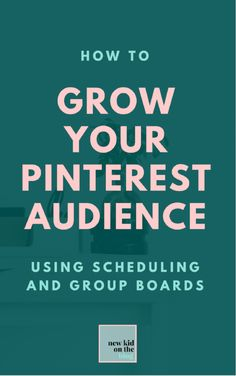 How Pinterest Scheduling Grew my Audience by 1,918.11% in 3 Months