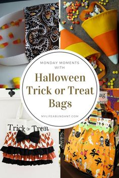 Be the talk of the town with home made trick or treat bags this Halloween. Easy to make and so cute that you will keep for years to come.